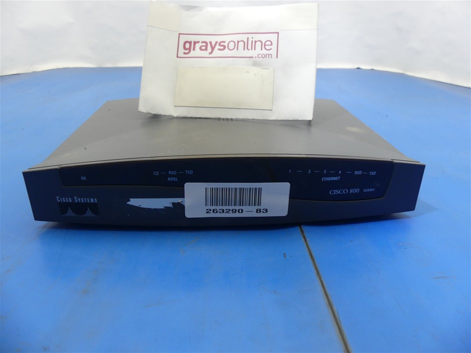 Cisco Systems 800A 837 Broadband Routers
