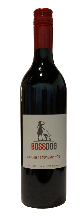 Boss Dog Cabernet Sauvignon 2016 (12 x 750mL) Great Southern, WA