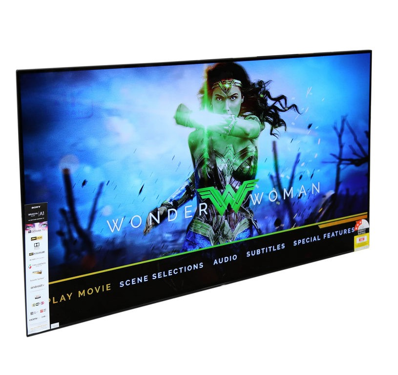 SONY Bravia OLED 55inch Television c/w Remote & Power Cable, Model KD-55A1.