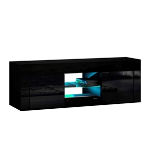 Artiss 130cm RGB LED TV Stand Cabinet En