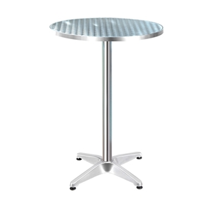 Gardeon Outdoor Bar Table Aluminium Dini