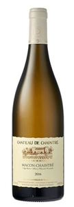 Domain de Chaintre Bourgogne Macon 2016