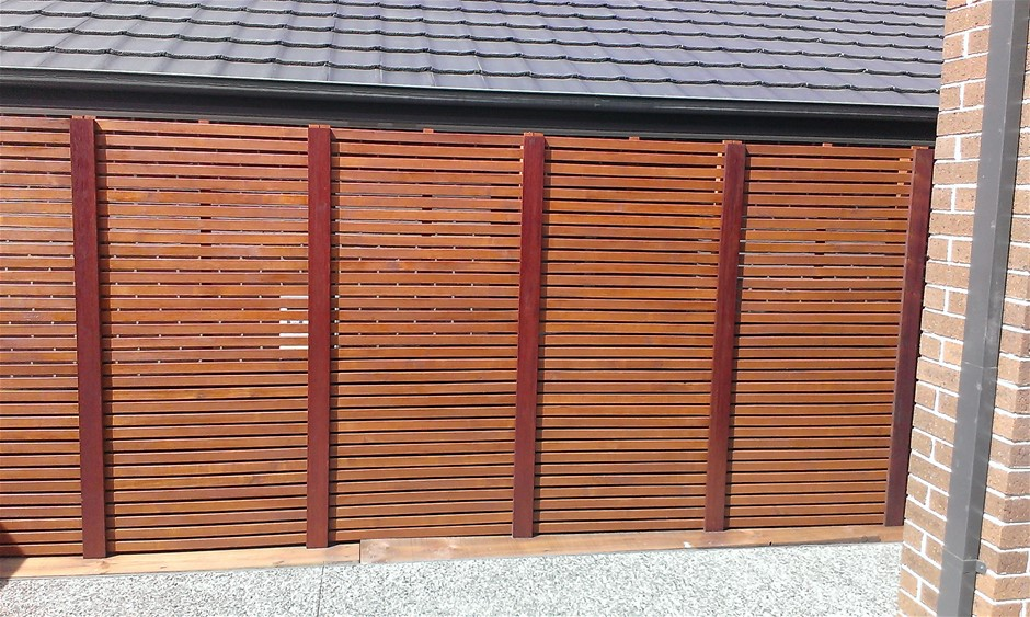 4 x 1800 X 900 Merbau type- hardwood screens (Pooraka, SA)