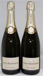 Louis Roederer Brut Premier NV (2 x 750mL), Champagne, France.