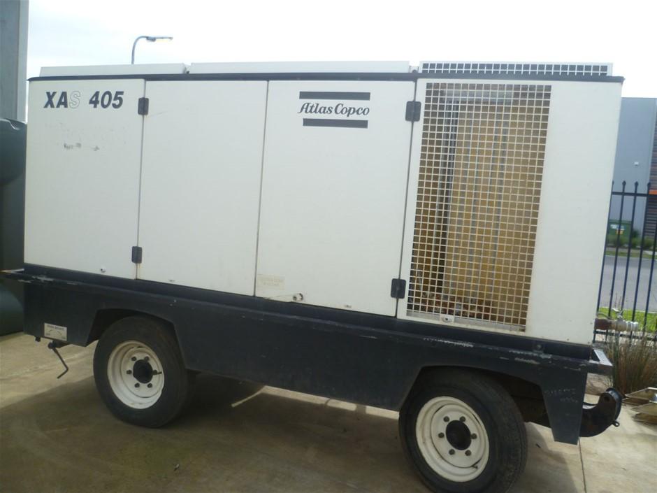 Atlas Copco Diesel Compressor