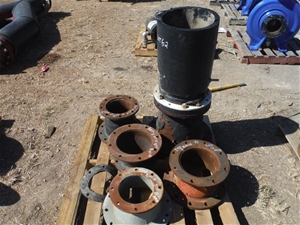 Pallet of Reducer Couplings