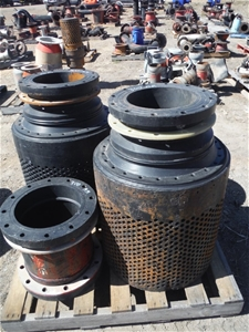 Qty 2x 300mm Strainers Poly