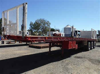 Triaxle Flat Top Trailer