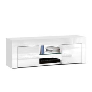 Artiss 130cm High Gloss TV Stand Unit Ca