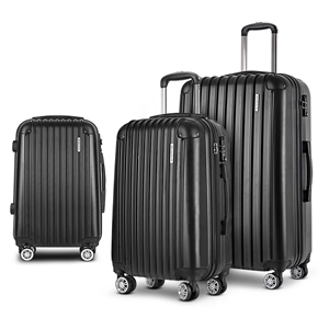 Wanderlite 3pc Luggage Set Suitcases Set