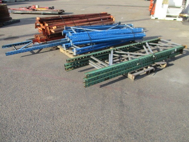 Qty 3 Pallets x Pallet Racking