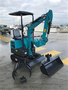 Unreserved Unused 2019 Mini Excavator