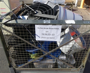 Pallet of Assorted Electrical Cables in