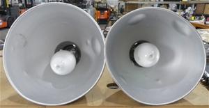 2 x Lanson 400W Mercury Vapour High Bay