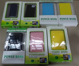 Box of Assorted 7 x Power Bank