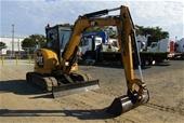 Unreserved 2013 Caterpillar 305.5E Diesel Mini Excavator