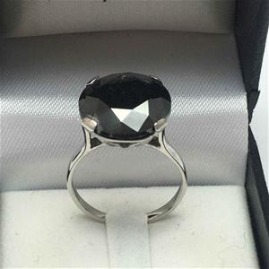 18ct White Gold, 8.9ct Diamond Ring