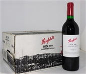 Penfolds `Bin 389` Cab shiraz 1999 (6x 750ml), SA . cork closure.