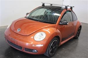 2009 MY10 Volkswagen Beetle BLACKORANGE