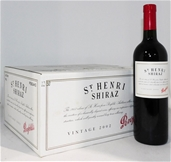 Penfolds `St Henri` shiraz 2002 (6x 750ml), SA . cork closure.