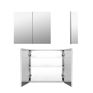 Cefito Stainless Steel Bathroom Mirror C