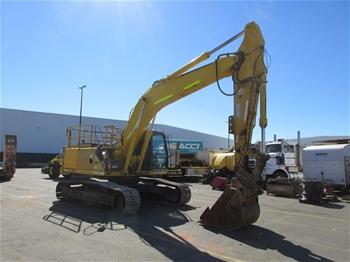 2008 Sumitomo SH240-5 Steel Tracked Excavator