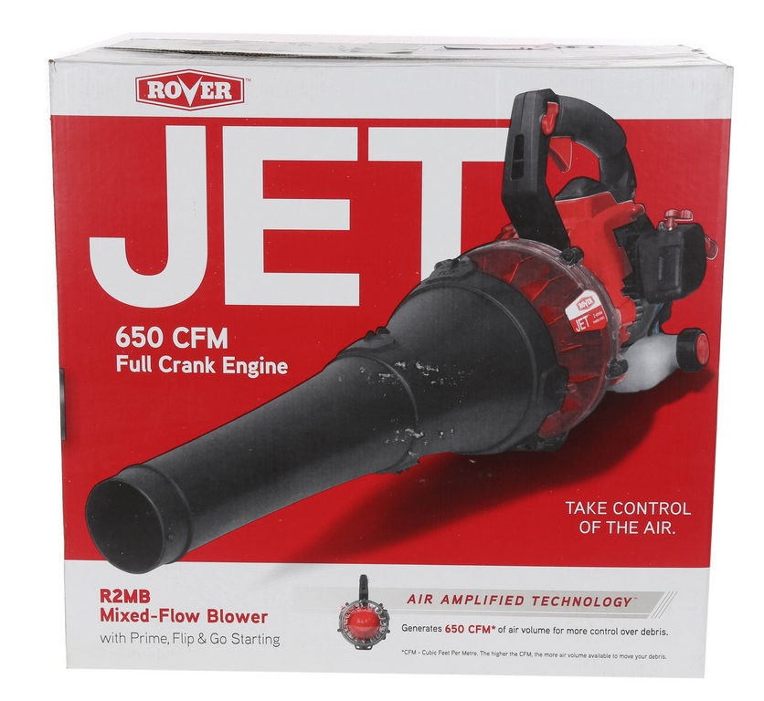 ROVER JET Mixed Flour Blower, 650CFM w/ Powered Engine. (SN:CC41442) (26803