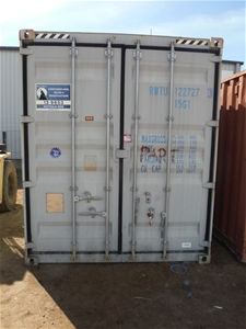10' High Cube Container & Contents