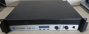 Crown CDi 1000 Two-channel, 500W, 70V/14
