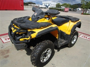 2013 Can Am Outlander SST - G2 1 seater