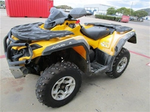 2014 Can Am Outlander 1 seater Quad, 470