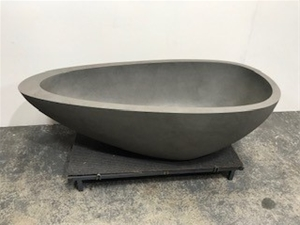 Grey Freestanding Bath, 1800 x 900mm (Re