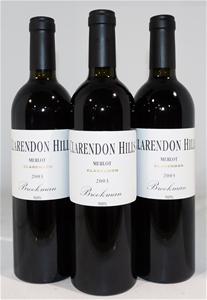 Clarendon Hills `Brookman` Merlot 2003 (