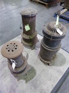 Qty 3 x Kerosine Heaters (Pooraka, SA)