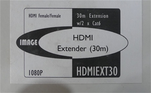IMAGE HDMI Extender (30m) - HDMIEXT30