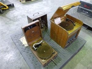 Record Players and Transistor Radio (Poo