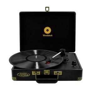 mbeat MB-TR89BLK Woodstock Black Retro t
