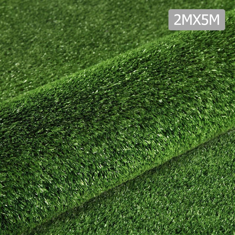 Primeturf 2m x 5m 10SQM Synthetic Turf Artificial Grass Plastic Lawn 10mm