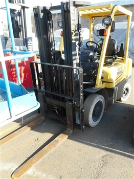 2007 Hyster Fortis H2.5TX-EL 2.5 Ton Gas 4 Wheeled Counter Balance Forklift