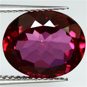 5.61ct. Natural Oval Facet Checkerboard