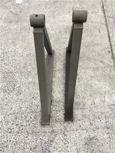 Pair of Steel Fabricated & Cable Drum Ho