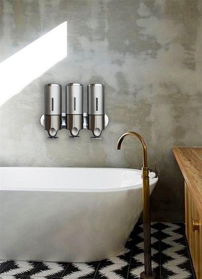 1500ml Shower Liquid Soap Body Lotion Gel Shampoo Bathroom DISPENSER