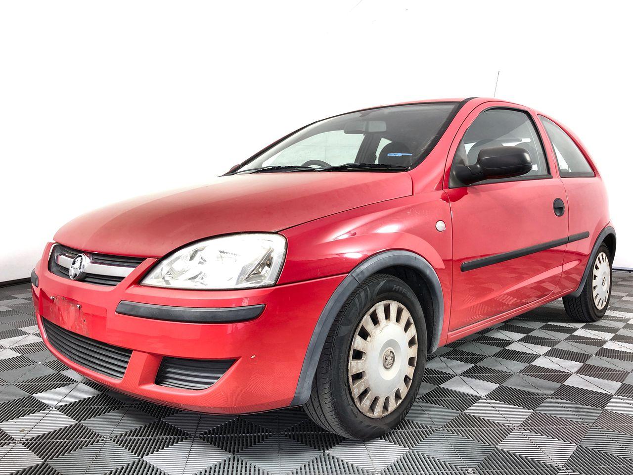 2004 Holden Barina XC Automatic Hatchback, 101,634km