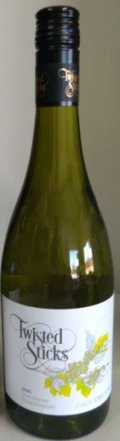 Twisted Sticks Organic Chardonnay 2016 (6 x 750mL) UK