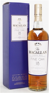 Macallan 18 Year Old Fine Oak Single Mal