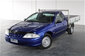 Unreserved 2001 Ford Falcon XL S11 Tray Ute Dedicated Gas