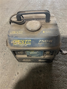GMC portable generator, 750w