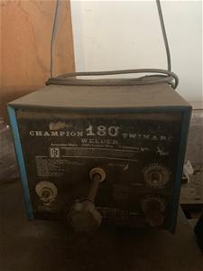 Champion 180 Twinarc Welder, Operational