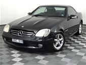 Unreserved 2001 Mercedes Benz SLK200