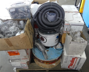 Pallet of Assorted Vacumm Fitting and Ac